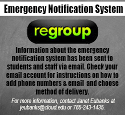 Regroup notice, emergency notification system
