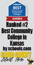 Best Community College in Kansas ranking