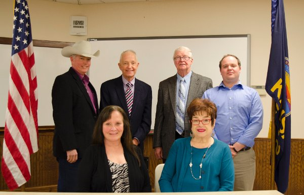 The Board of Trustees is a six-member governing body of Cloud County Community College.