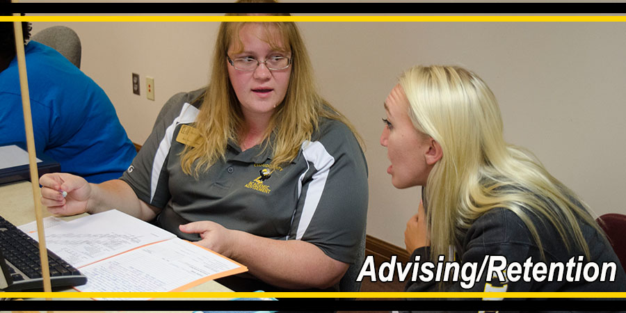 Advising/Retention header photo.