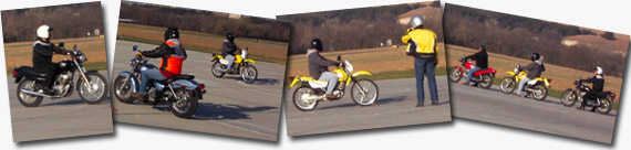 Motorcycle training photos