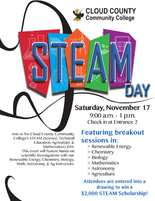 Get all of the information here about STEAM day on November 17