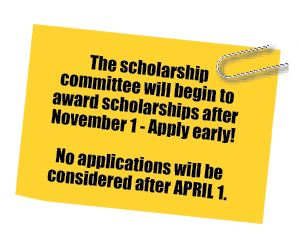 Scholarship deadline
