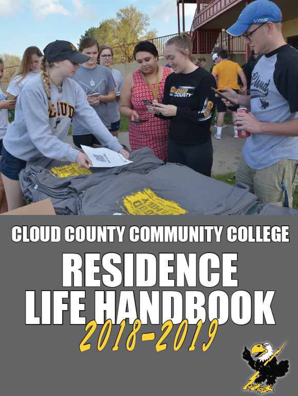 Click here for a PDF of the 2018-2019 Residence Life handbook