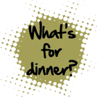 What's for dinner menu button.