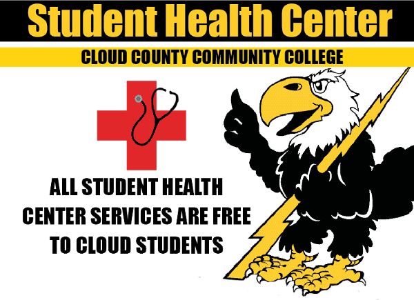 Cloud has an on-site Student Health Center