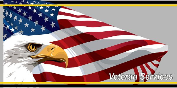 Veterans Services page graphics