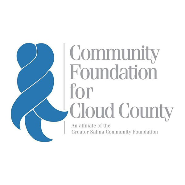 The logo for the Community Foundation for Cloud County.