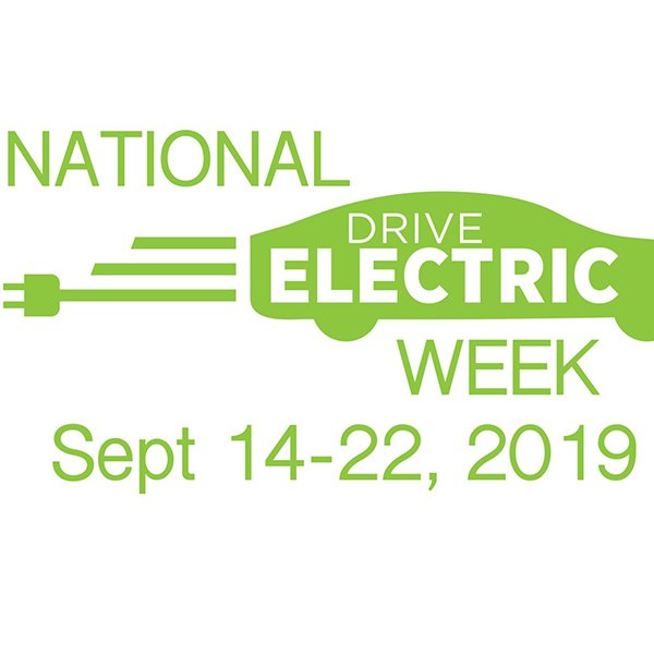 National Drive Electric Week logo.
