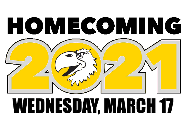 A photo of the Homecoming 2021 graphic.