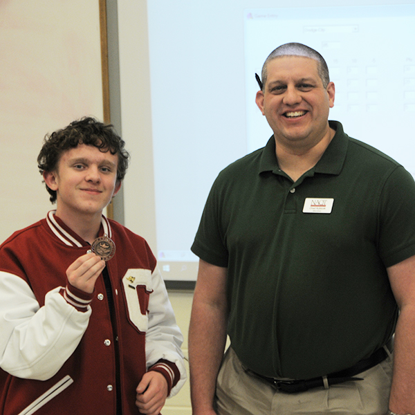 NAQT Quiz Bowl all-section team member, Phillip Shirkey.