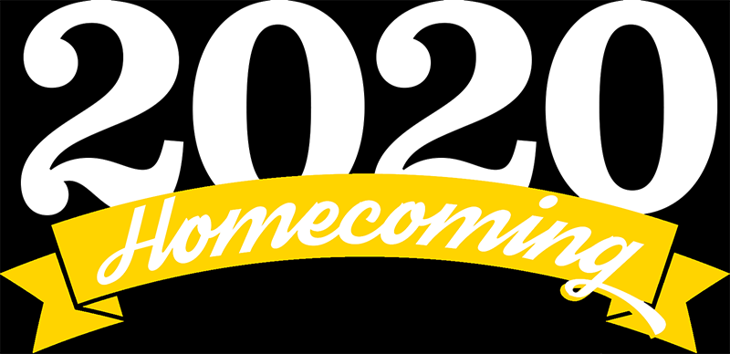 Homeoming 2020 logo.