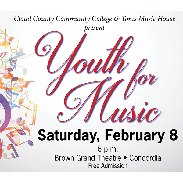 Youth for Music is February 8.